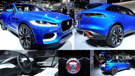 jaguar   suv interior concept  frankfurt motor