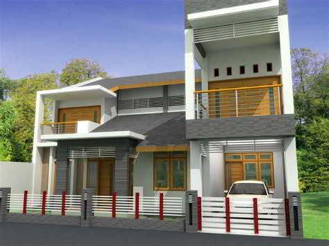 model desain rumah kontemporer minimalis elegan mewah