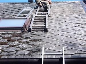 Oprava staré střechy
