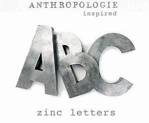 17 best images about for the home on pinterest vintage With anthropologie wall letters