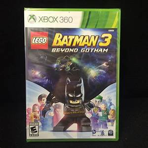 LEGO Batman 3: Beyond Gotham (Xbox 360, 2014) Brand New ...