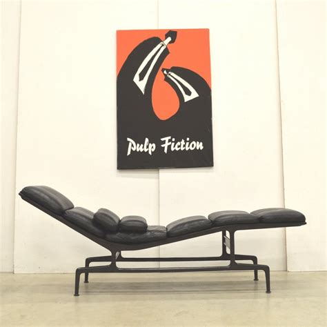 chaise charles et eames es106 chaise lounge chair by charles eames for vitra 1980s 65881