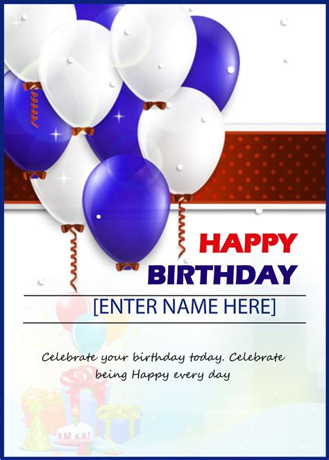 birthday card template 40 free birthday card templates ᐅ template lab