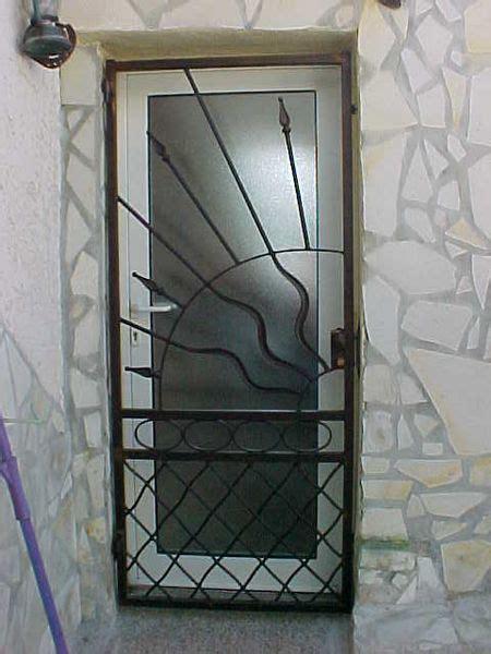 decoration des portes en fer porte de s 233 curit 233 en fer forg 233 serrure 3 points ferronnerie pour garde corps et portail 224