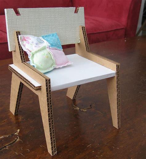 Möbel Aus Pappe Selber Machen by Pappe Karton Cardboard Chair Sessel Furniture
