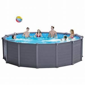 Piscine Tubulaire Intex Castorama : intex piscine tubulaire fabulous piscine intex ronde kit ~ Dailycaller-alerts.com Idées de Décoration