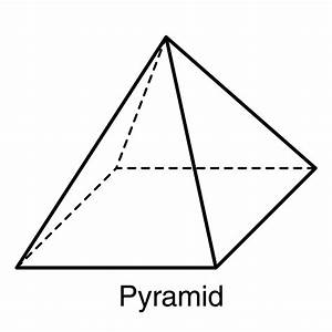 Pyramid clipart triangular prism - Pencil and in color ...