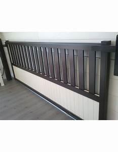 Portail Sur Mesure : portail alu coulissant aluminium metz m 6 m ~ Melissatoandfro.com Idées de Décoration