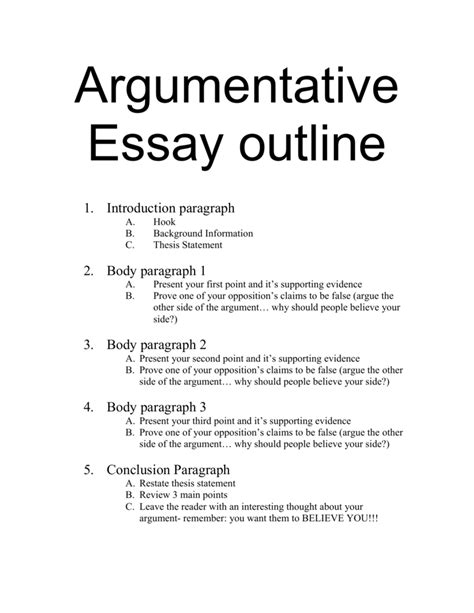 outstanding  thesis statement  claim   argumentative essay  thatsnotus