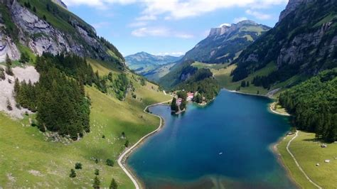 parrot bebop  drone switzerland seealpsee appenzell youtube