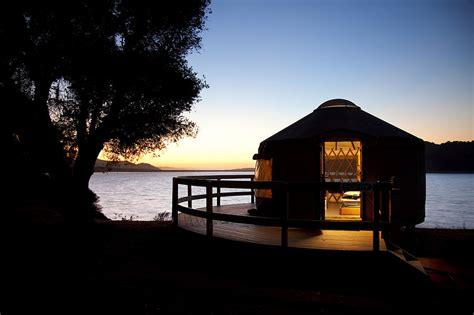 black throw pillows yurt on lake cachuma photograph by szerlag
