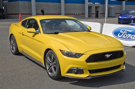Ecoboost Mustang Specs Ford Mustang Ecoboost Laptimes Specs Performance Data