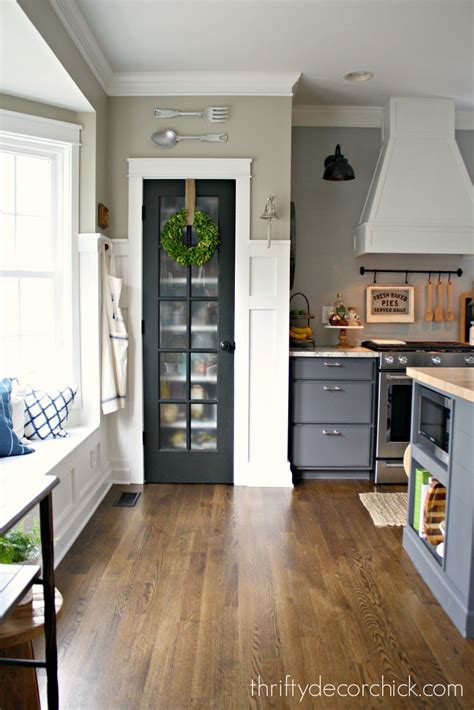 surprising color  room  glass pantry