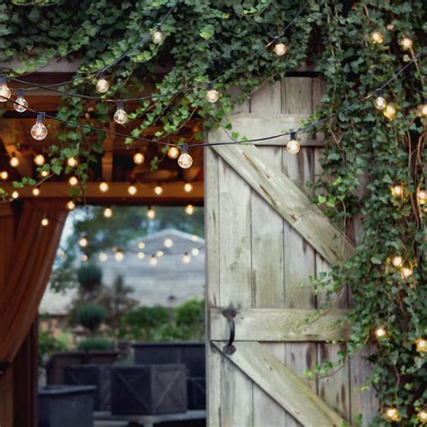 festival lights for outdoor wedding reception onewed com