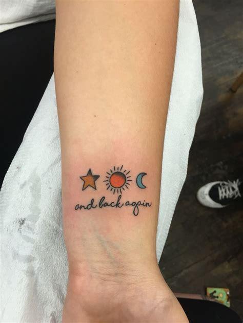 moon star tattoo ideas  pinterest moon sun