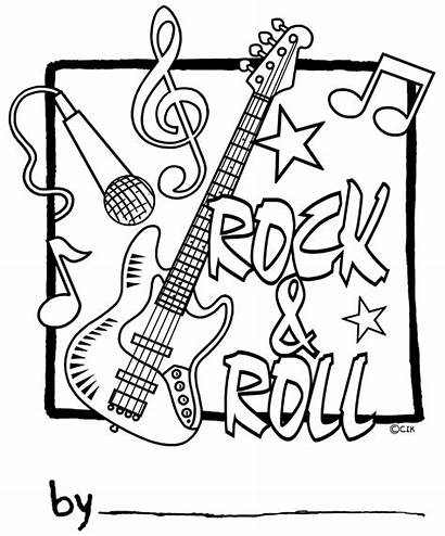 Coloring Roll Rock Pages Printable Star Colouring