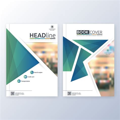 book cover template psd book cover template vector free