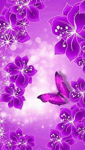 Purple And Black Butterfly Wallpapers