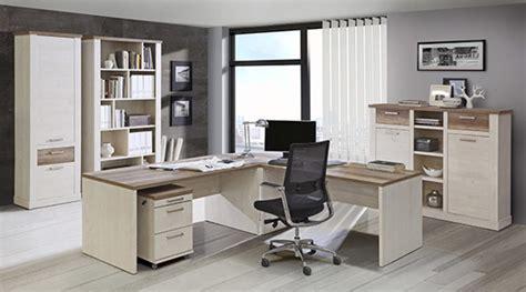 basika bureau bureau 2 tiroirs 2 portes duro meuble de bureau pin blanc