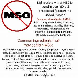 Excitotoxins, MSG, and the Food Industry's Dirty Little ...