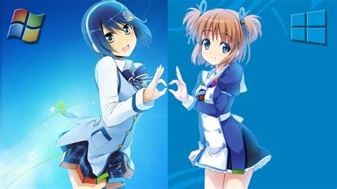 Anime Wallpaper Windows 8 - windows crossover wallpaper and background image