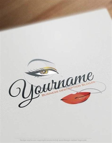 exclusive logos store makeup logo design makeup logo