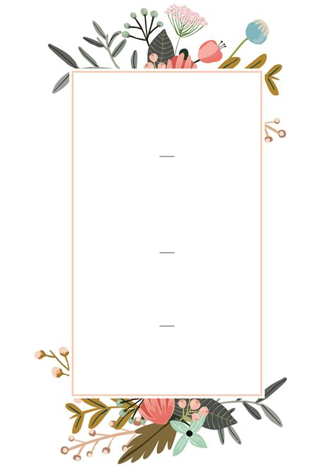 Editable Wedding Invitation Templates for the Perfect Card