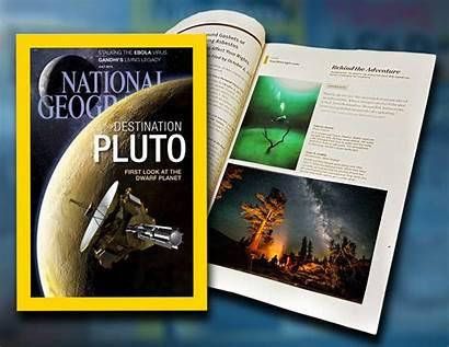 Geographic National Magazine Published Dewitt