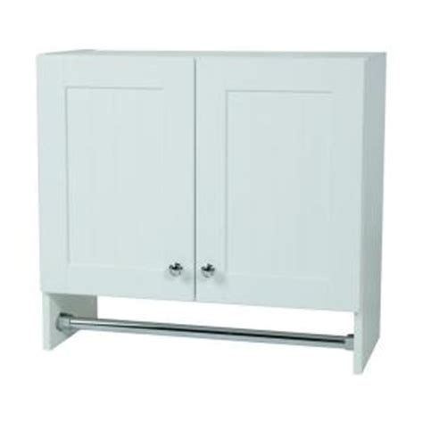 glacier bay laudry assembled 27 x 25 x 12 in wall cabinet
