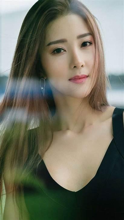 Korean Brunette Iphone Wallpapers Iphones October