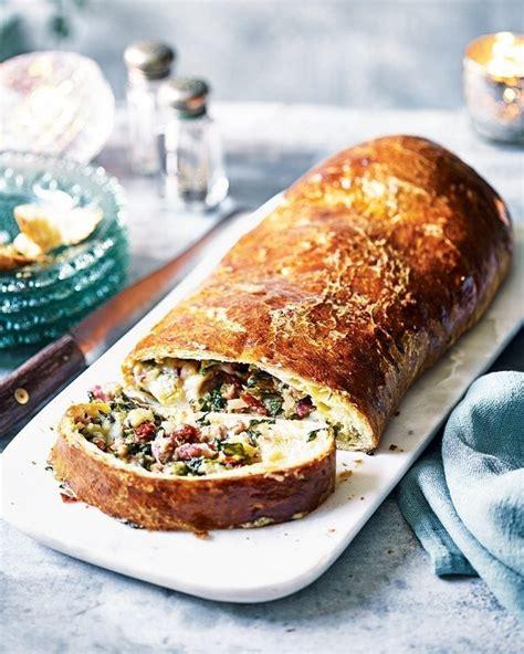 Sausage and taleggio brioche roll recipe | delicious. magazine
