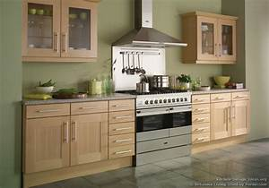 kitchen of the day shaker beech kitchen with soft green With kitchen cabinets lowes with black and green wall art