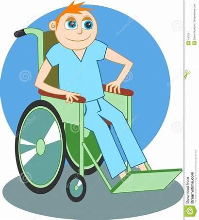 Wheelchair Boy Illness Sick Cartoon Recovering Dreamstime