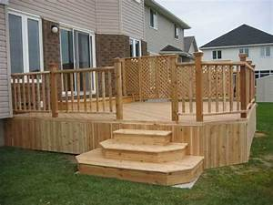 back porch designs Deck Stairs Design Ideas for Your