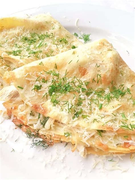 crepe recipe chicken recipes easy cheese filling crepes savory dinner lavenderandmacarons creamy lunch filled sharing goes fast always favorite today