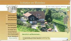 Schlafen Im Weinfass Sasbachwalden : schlafen im weinfass tourist info sasbachwalden pressemitteilung ~ Eleganceandgraceweddings.com Haus und Dekorationen