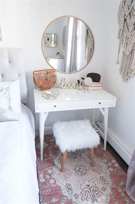 Small Bedroom Vanity styling a vanity in a small space home decor ideas