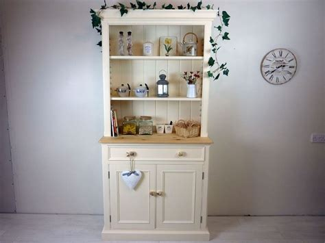 Country Style Pine Dresser In Arielpainted Vintage