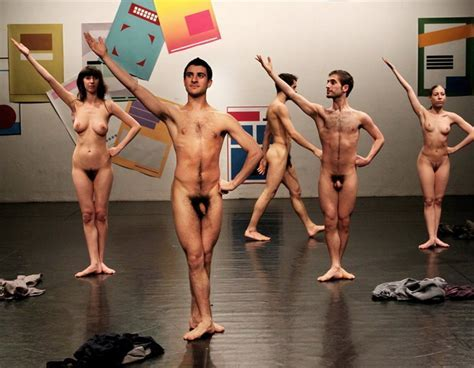 Nude Ballet Class Naked Wresting
