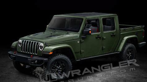 jeep wrangler scrambler pickup   diesel engine option revealed