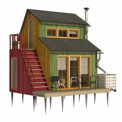 Plans Garden Hut Shed Loft Building Cottage