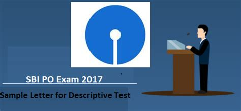 letter writing  sbi po mains exam