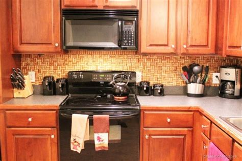 cork flooring backsplash remodelaholic 25 great kitchen backsplash ideas