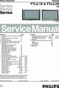 Philips Chassis Ftl2 1e Ftl2 2e Aa Service Manual   S