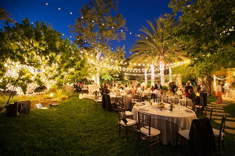 backyard evening wedding outdoor furniture design  ideas