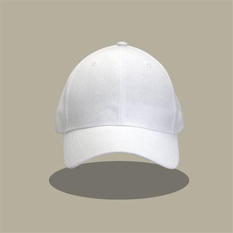 jual baseball cap polos topi polos putih ikatan
