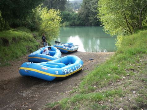 Boat Rafting by The White Water Rafting Boats Photo
