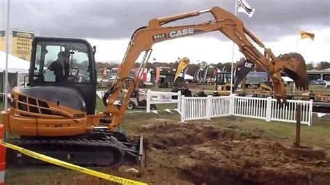 case mini excavator challenge youtube