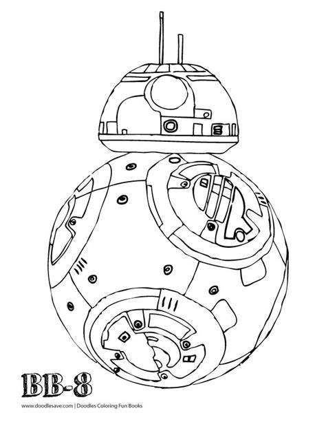 Bb8 Kleurplaat by Bb8 Coloring Pages Az Coloring Pages