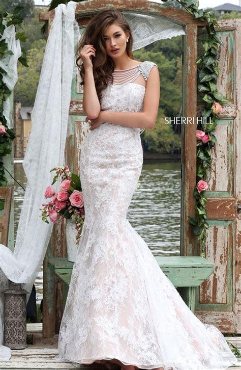 celebrate love  sherri hill  wedding dresses
